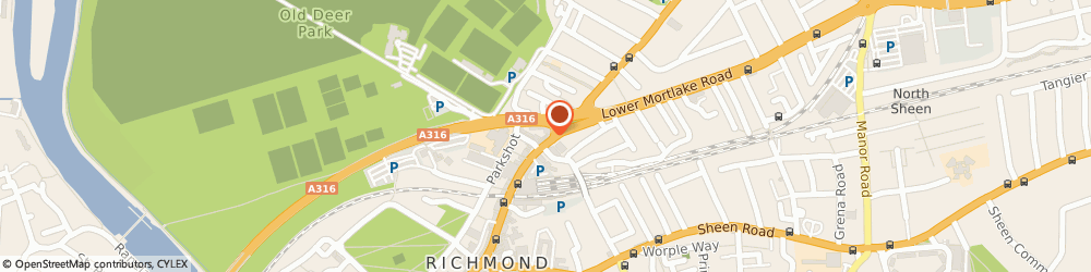 Route/map/directions to L'ORCHIDEE DES PAPILLONS LIMITED, TW9 2NQ Richmond, 57 Kew Road