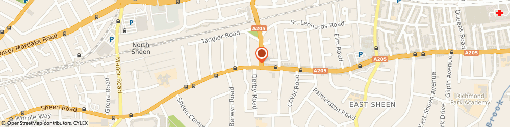 Route/map/directions to Embury Building Services - Richmond, TW10 5DY Richmond, 430 Upper Richmond Road West