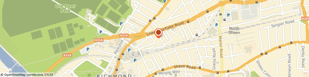 Route/map/directions to Larkfield Apartments, TW9 2PG Richmond, 19 Larkfield Rd