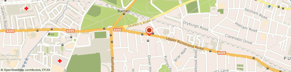 Route/map/directions to Casa Nora, SW15 6TL London, 324 Upper Richmond Road