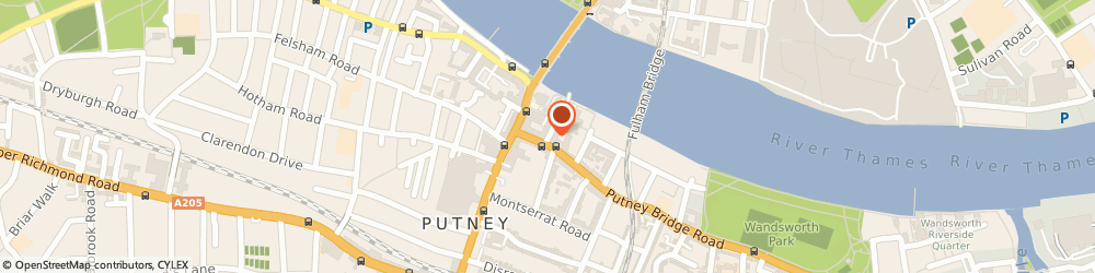 Route/map/directions to The Works Marketing Communications, SW15 2JJ London, 1 CASTLE COURT, 1 BREWHOUSE LANE