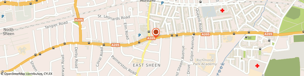 Route/map/directions to C.j.r Curtain Contracts, SW14 8LP London, 46 Sheen Ln, Mortimer House