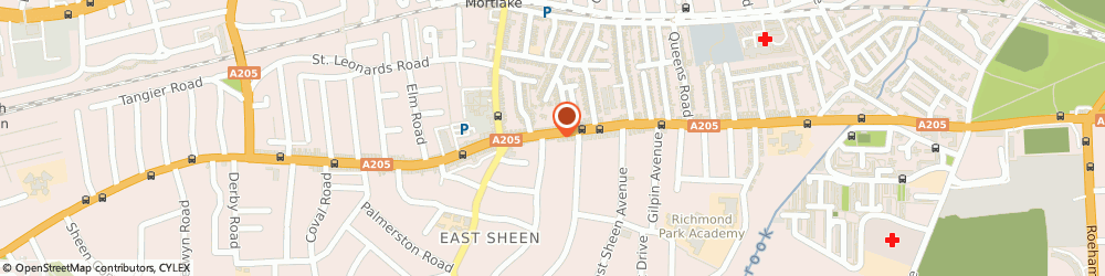 Route/map/directions to Sheen Tyres, SW14 8QR London, 331 Upper Richmond Road West