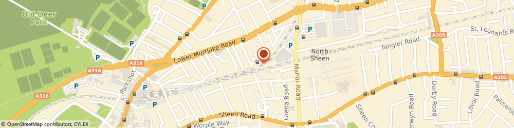 Route/map/directions to Cheap Taxi Kingston, TW9 2JN Richmond, 1 Argule House, Dee Road