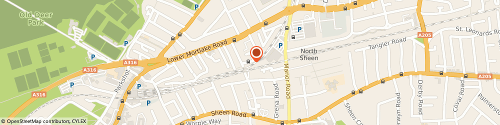 Route/map/directions to Financial Partnership Limited, TW9 2JN Richmond, Vision House, 3 Dee Road