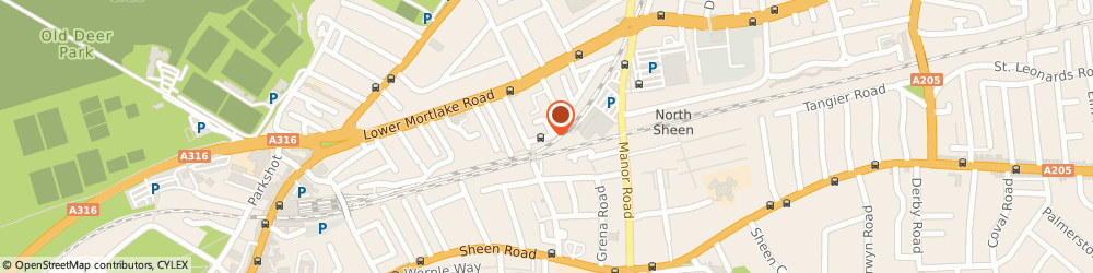 Route/map/directions to Impression Cars Ltd, TW9 2JN Richmond, 1 ARGYLE HOUSE, DEE ROAD