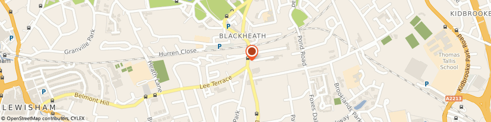 Route/map/directions to Bailey Clothing Ltd, SE3 9SY London, 28 Blackheath Village