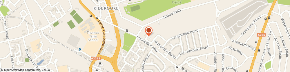 Route/map/directions to Accountancy At Profit, SE3 8QR London, 8 Polebrook road, Kidbrooke