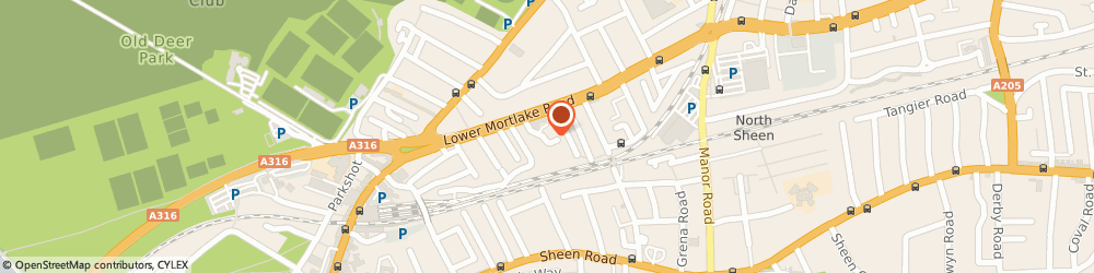 Route/map/directions to Classic Fabrics & Stylish Antiques Limited, TW9 2LY Richmond, 1 TERSHA STREET