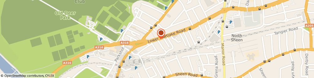 Route/map/directions to London Flow Screed, TW9 2LR Richmond, 43 Lower Mortlake