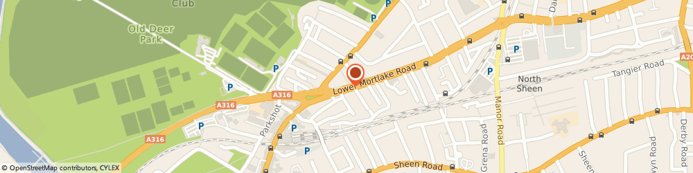 Route/map/directions to PSYCHOTHERAPY RICHMOND LIMITED, TW9 2LR Richmond, 39 Lower Mortlake Road