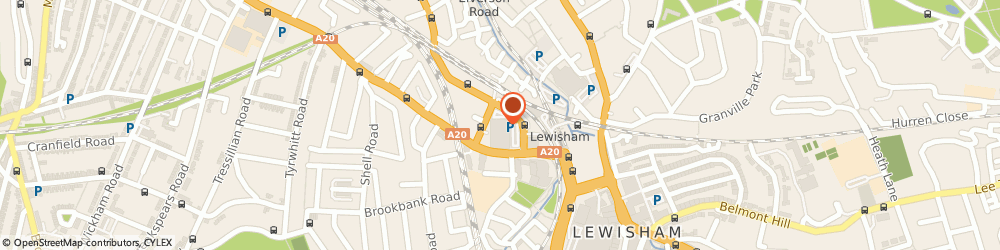 Route/map/directions to Matalan, SE13 7SN London, Loampit Vale