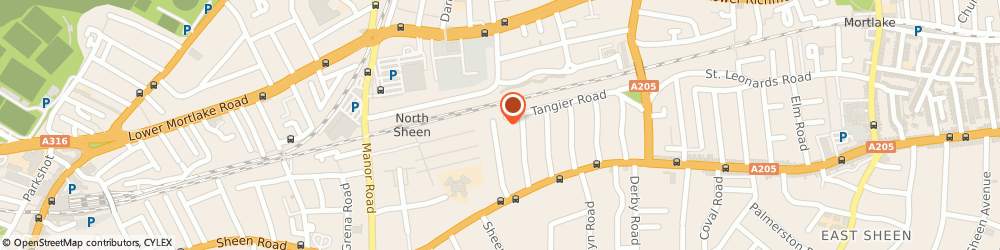 Route/map/directions to Organic Talents, TW10 5DF Richmond, 59 Sheen Court Road
