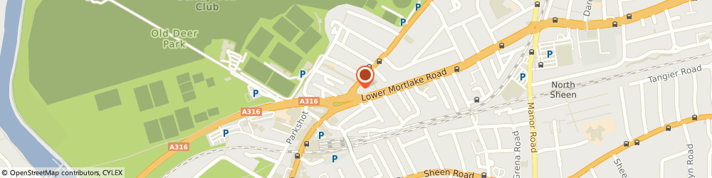 Route/map/directions to Man with Van Richmond upon Thames, TW9 2PQ Richmond, 54 Kew Rd