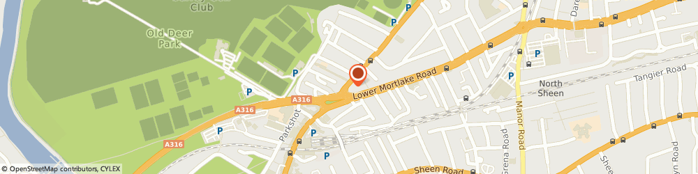 Route/map/directions to Internet Dreams Studio, TW9 2PQ Richmond, 56 Kew Rd