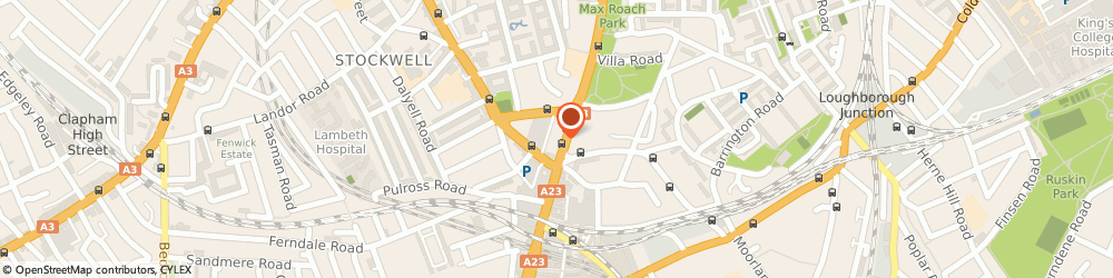 Route/map/directions to BRIXTON EYECENTRE, SW9 7AW London, 396 Brixton Road
