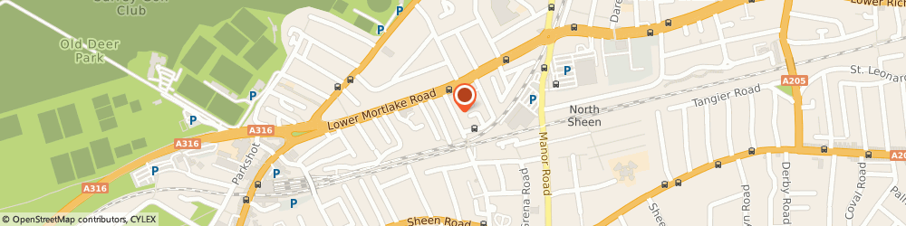 Route/map/directions to Stable Motors, TW9 2JJ Richmond, 6 Sheendale Road