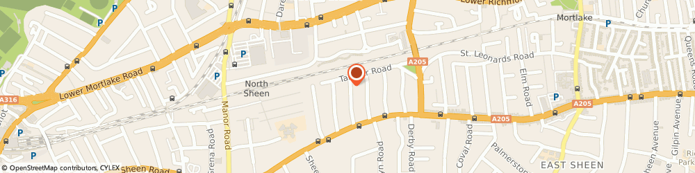 Route/map/directions to Appliance Trading, TW10 5EG Richmond, 29 Clydesdale Gardens