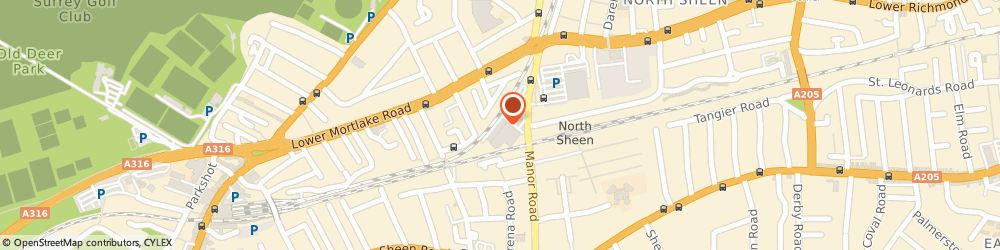 Route/map/directions to Vets4Pets RICHMOND, TW9 1YB Richmond, Inside Pets At Home Manor Road