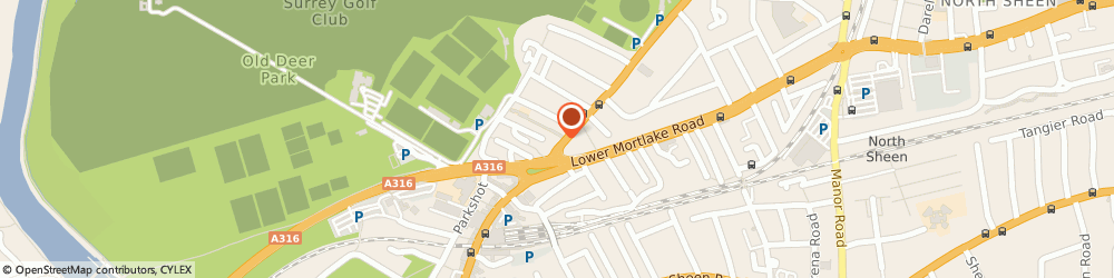 Route/map/directions to The Shaftesbury, TW9 2PN Richmond, 121-123 Kew Road