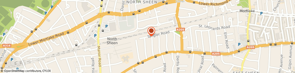 Route/map/directions to NINA WATSON LIMITED, TW10 5DN Richmond, 84 Tangier Road