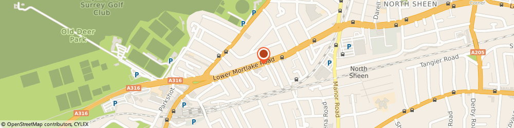Route/map/directions to Traditional Hotels Ltd, TW9 2JG Richmond, 76 LWR MORTLAKE RD