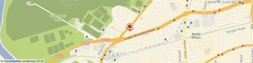 Route/map/directions to Tesco Express, TW9 2PQ Richmond, 76-84 Kew Rd