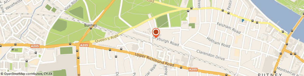Route/map/directions to Robert Clarke Rigging Limited, SW15 1BW London, 9 BEAUCHAMP TERRACE