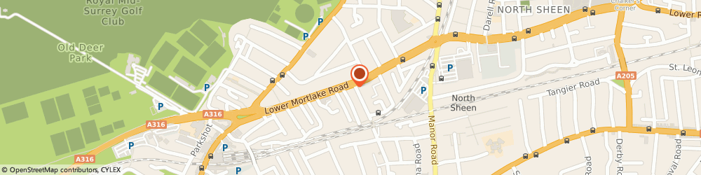 Route/map/directions to Quad RICHMOND, TW9 2JG Richmond, 92-98 LOWER MORTLAKE ROAD