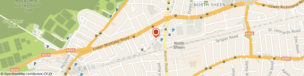 Route/map/directions to Five Star Cars, TW9 2LH Richmond, 6 BARDOLPH RD