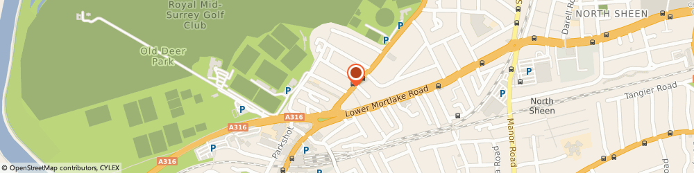 Route/map/directions to Chloe's Nail Spa & Beauty, TW9 2PN Richmond, 141 Kew Road