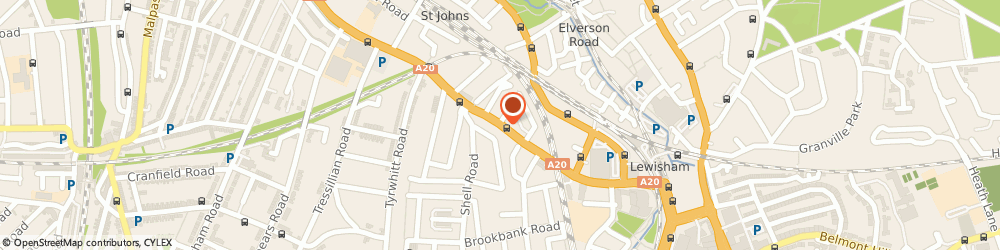 Route/map/directions to David Mitchell, SE13 7SW London, 28 Loampit Hill