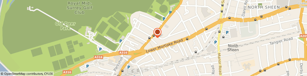 Route/map/directions to ROSEBANK LANDSCAPING LTD, TW9 2PQ Richmond, 98 Kew Road