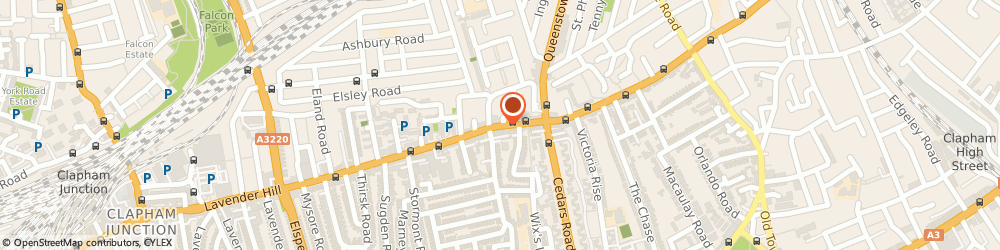Route/map/directions to Dukes, SW11 5RL London, 34 LAVENDER HILL