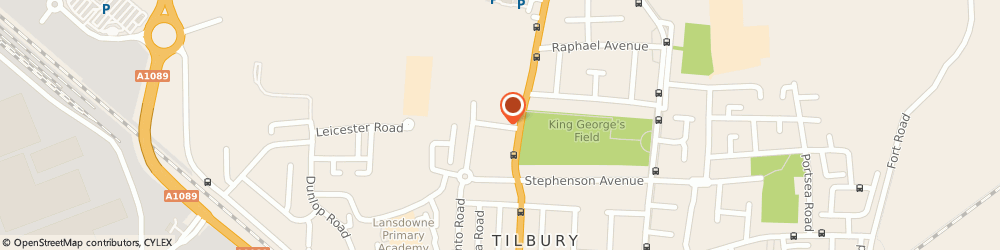 Route/map/directions to AB Architect & Builder, RM18 7RX Tilbury, 4 Central Avenue