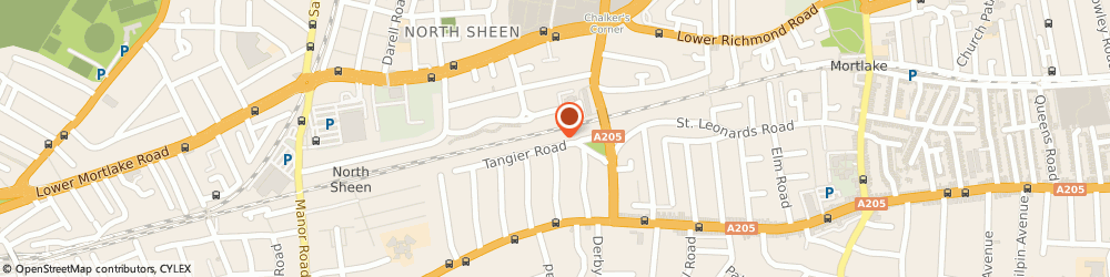 Route/map/directions to Nino Hairdressing & Hair Extensions, TW10 5DW Richmond, 30 Tangier Rd
