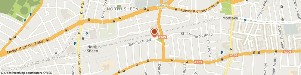 Route/map/directions to Jo Cole Limited, TW10 5DW Richmond, 32 TANGIER ROAD