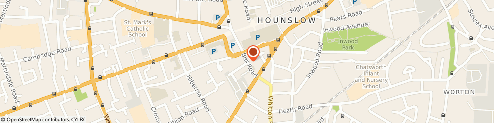 Route/map/directions to Aircall Radio Cars, TW3 3NU Hounslow, 6 BELL PDE