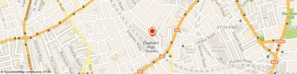 Route/map/directions to Safestore Self Storage Clapham, SW4 6LY London, 4 Gauden Road