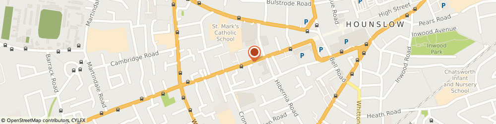 Route/map/directions to Anytime Locksmiths - London, TW3 1AA Hounslow, Staines Road