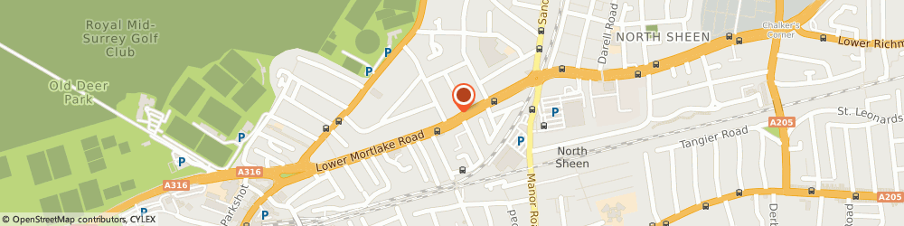 Route/map/directions to Bp Express Shopping Ltd, TW9 2LL Richmond, 221 Lower Mortlake Road