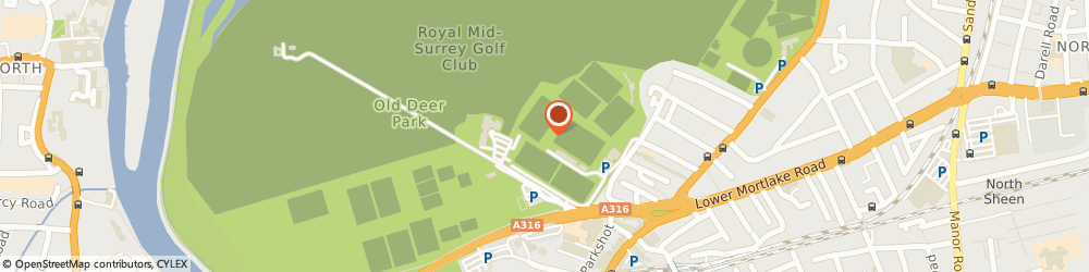 Route/map/directions to Tribe Performance, TW9 2SS Richmond, Richmond Athletic Ground, Kew Foot Road