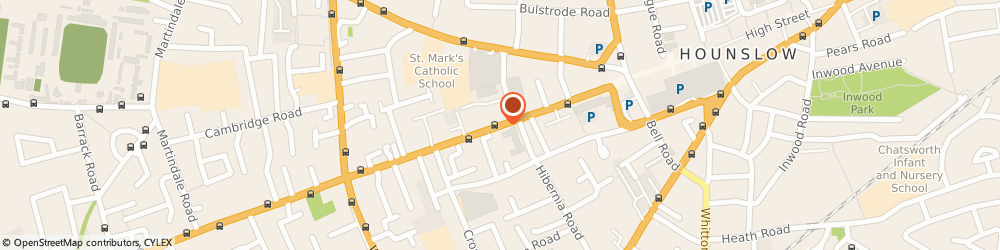 Route/map/directions to Locksmiths Hounslow Emergency Lock Repairs Hounslow Services, TW3 3JS Hounslow, STAINES ROAD