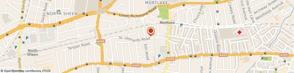 Route/map/directions to Cookie Crumbles, SW14 7NE London, 64 St Leonards Rd