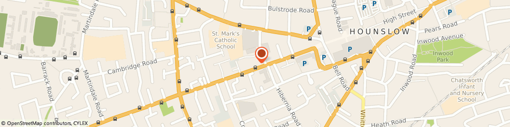 Route/map/directions to Pearl Chartered Accountants, TW3 3JB Hounslow, Quest House, Ground Floor, 125-135 Staines Road
