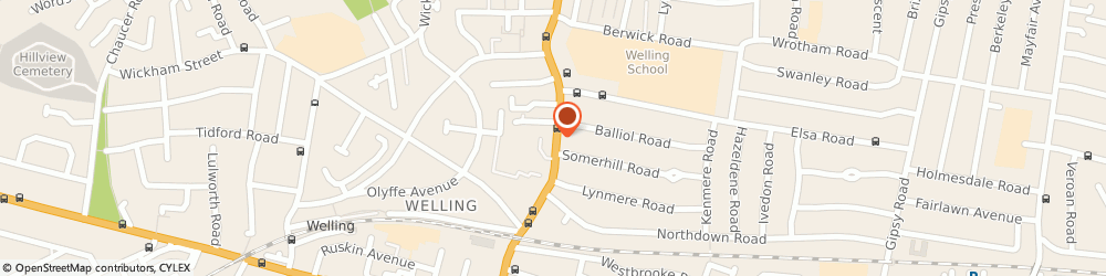 Route/map/directions to Eastern Curry, DA16 3DP Welling, 130, UPPER WICKHAM LANE