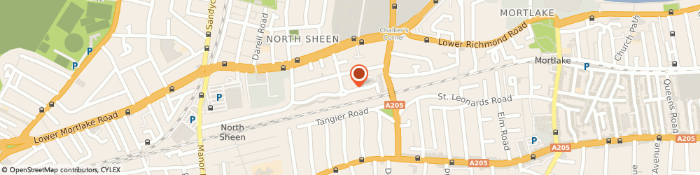 Route/map/directions to Amida Life Coach, TW9 4QR Richmond, London Therapy Foundation, 40 Lambert Avenue, Richmond,