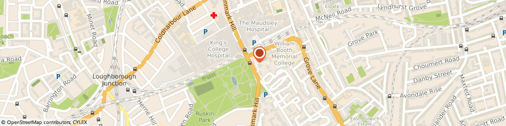 Route/map/directions to Urban Village Home, SE5 8EN London, 121, Denmark Hill