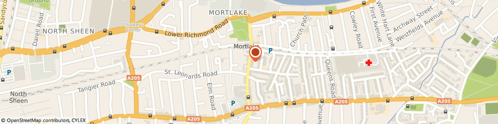 Route/map/directions to Local Locksmith Mortlake, SW14 8LP London, 12 Sheen Ln