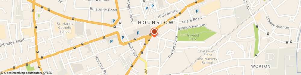 Route/map/directions to Always & Forever Bridal UK, TW3 1UG Hounslow, 122 Hanworth Road